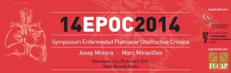 14 EPOC 2014 Symposium Enfermedad Pulmonar Obstructiva Cronica Josep Morera